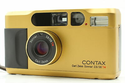 $ CDN1813.65 • Buy [MINT] Contax T2 Gold Point & Shoot Film Camera From JAPAN