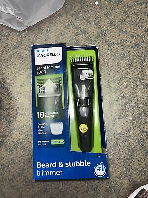 AU29.29 • Buy Philips Norelco Beard & Stubble Trimmer Series 3000 BT3210/41 Free Shipping