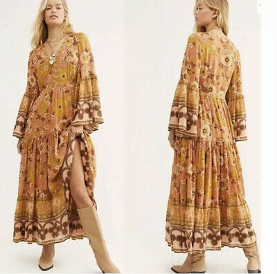 AU153.03 • Buy NWT Spell & The Gypsy Collective Buttercup Long Sleeve Dress Size XS