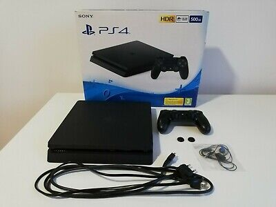 AU296.22 • Buy Playstation 4 PS4 Slim 500GB W/ Controller, Cables