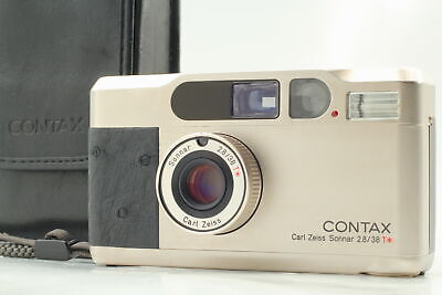 $ CDN2244.32 • Buy [MINT] CONTAX T2 Limited Platin Point & Shoot Film Camera From JAPAN
