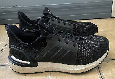 AU38.64 • Buy Adidas Ultraboost 19 Black White Running Shoes G54014 Women Size 8