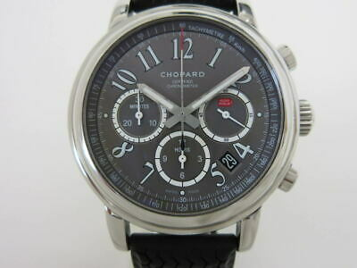 £2906.59 • Buy Chopard Mille Miglia Chronograph 8511 Automatic Gray Dial Rubber Men's