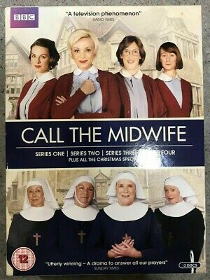 Call The Midwife Series 1 - 4 & Christmas Specials DVD Boxset (2013) BBC 12+ • 9.99£
