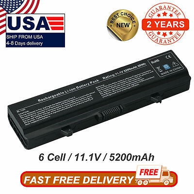 $12.98 • Buy Battery For Dell Inspiron 1525 1526 1545 1546 1440 GW240 RN873 X284G M911G HP297