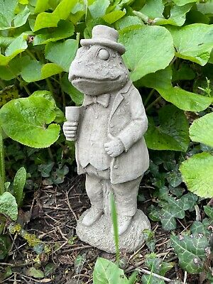 £33.99 • Buy Mr Toad Stone Statue  Beatrix Potter Wind Willows Animal Garden Outdoor Ornament