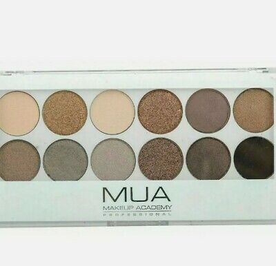 £3.49 • Buy  MUA 12 Shade Eyeshadow Palette Undress Me Too NEW Christmas 🎄 Stocking Fillers