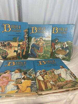 £24.81 • Buy Vintage Childrens Bible Story Books 2/3/5/8/9 Story Books Arthur Maxwell