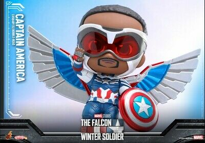 $ CDN60.65 • Buy Hot Toys Marvel Falcon And The Winter Soldier Captain America Cosbaby OFFICIAL