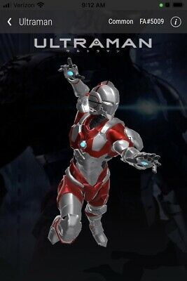 $18.50 • Buy 🔥#5009/9500 VEVE ULTRAMAN NFT -  Common - 1st Appearance Figure - Sold Out!🔥