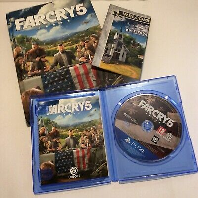 AU17.81 • Buy Ps4 Far Cry 5 Game, Collector's Edition Guide.