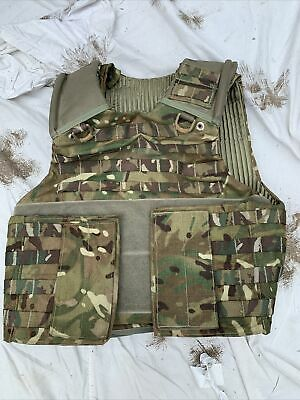 £20 • Buy MTP Osprey Body Armour Plate Carrier Molle Webbing Vest Genuine Issue 180/104