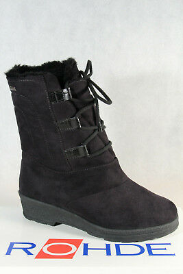 £73.70 • Buy Rohde Women's Boots Ankle Boots Winter Boots Black Sympatex 2872 New