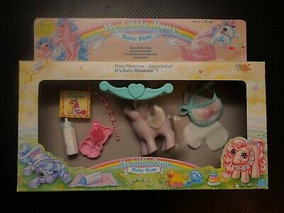 £59 • Buy My Little Pony G1 1980s Vintage Baby Blossom Play And Care Original Box