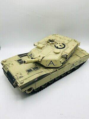 $42.73 • Buy 2007 Unimax QTA007 Forces Of Valor M1A1 Abrams US Army 1/18 Military Tank 17