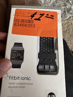 $ CDN16.81 • Buy Fitbit Ionic Sport Accesory Band Bracelet Black Small Sealed New