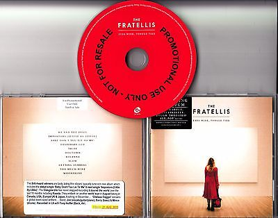 THE FRATELLIS Eyes Wide Tongue Tied 2015 UK 11trk Promo CD Jewel Case COOKCD628P • 3.99£