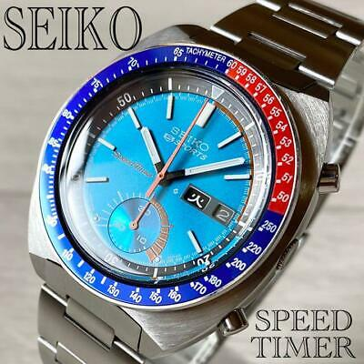$ CDN3032.88 • Buy Seiko 6139-6002 Pogue RARE 6139A Water 70M Resist Blue H Link1969 Steel 41 Mm