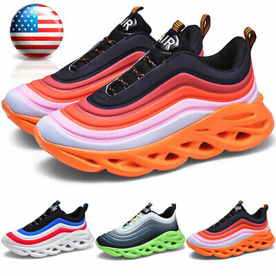 $26.99 • Buy Men's Fashion Sneakers Casual Walking Athletic Running Non-slip Tennis Shoes Gym
