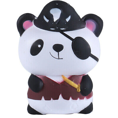 AU8.56 • Buy Pirate Panda Soft Slow Rising SKuishes Scented SKuishy Toy Stress Reliever Gifts