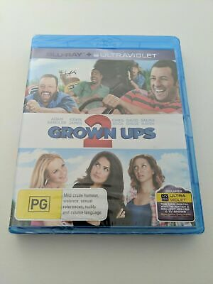 AU9.99 • Buy Grown Ups 2, Blu Ray, Brand New, Sealed, Adam Sandler