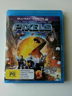 AU9.99 • Buy Pixels, Blu Ray, Brand New, Sealed, Adam Sandler, Peter Dinklage, Kevin James
