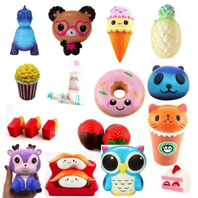 AU4.48 • Buy Jumbo Slow Rising Compress Toy Scented Cute Mini Soft Charm Toys Present Toy