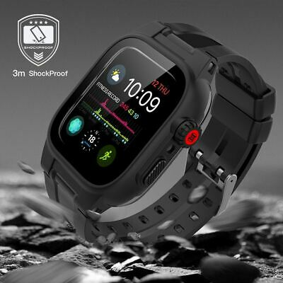 AU26.26 • Buy New Shockproof/Waterproof Full Cover Case For Apple Watch SE 6 5 4 3 42/44mm AU