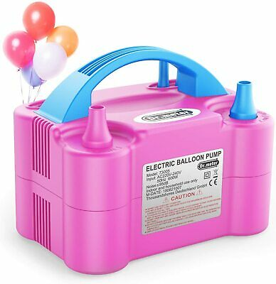 £27.99 • Buy Dr.meter Balloon Pump, Electric Inflator Pump With Dual Nozzle Inflator Blower P