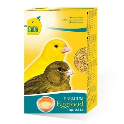 £9.80 • Buy 1kg Box Cede Canary Rearing Premium Egg Food