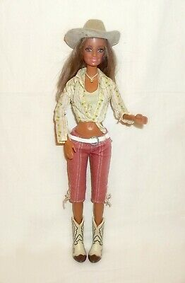 1999 Mattel Barbie Cali Doll/Cowgirl Articulated Doll, Original Outfit • 5.50£