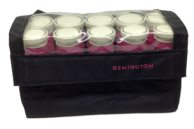 £21.82 • Buy Remington Hot Curlers Heated Rollers Hair Compact Travel Pageants H-1012 Pink
