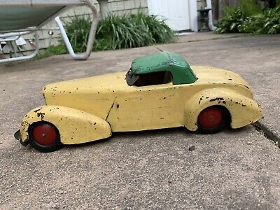 $ CDN119.71 • Buy Vintage All Metal Prod Co., Wyandotte Cord Car Yellow/green Coupe