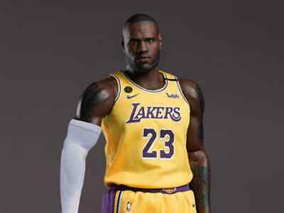 $450 • Buy NBA Collection Real Masterpiece LeBron James 1:6 Scale Action Figure
