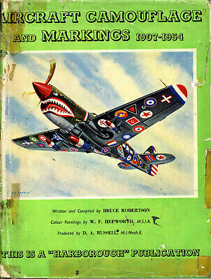 £10 • Buy Aircraft Camouflage And Markings 1907-1954