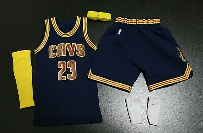 $27 • Buy  1/6 FIGURE Lebron James Cleveland Cavaliers Jersey 23  NBA Fit Enterbay