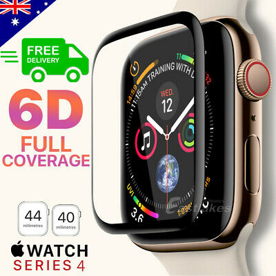 AU5.99 • Buy For Apple Watch IWatch 6 5 4 SE 38 44 40 Mm Tempered Glass FULL Screen Protector