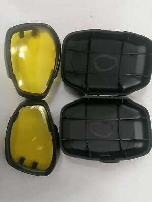 £10 • Buy ×4  British Military Issue - Ess V12 Advancer Goggles - Seperate Lenses - Yellow