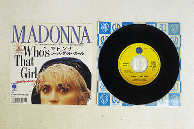 £2.83 • Buy MADONNA WHO'S THAT GIRL SIRE P-2266 Japan VINYL 7