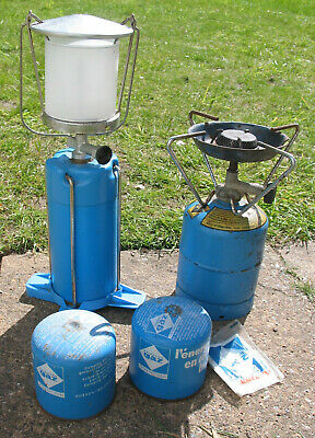 £15 • Buy Camping Gaz Gas Lantern Light Lamp + Stove + Gas + Mantle COLLECT ONLY