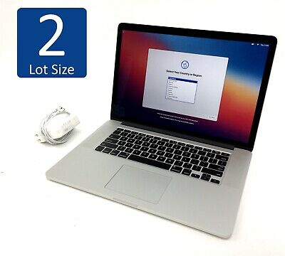 $ CDN1935.90 • Buy Lot Of 2 Apple MacBook Pro A1398 Laptops Core I7 4th Gen Big Sur - See Table***