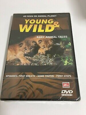 £2 • Buy Dvd Young & Wild Baby Animal Tales.as Seen On Animal Planet