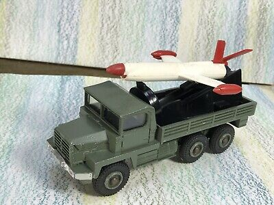 £49.95 • Buy Dinky Toys #620 Berliet Missile Launcher VG In Fragmented Box + Nord R-20