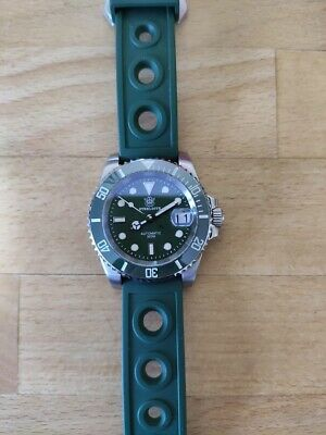 £62.57 • Buy Steeldive SD1953  Submariner Hulk  Diver Watch