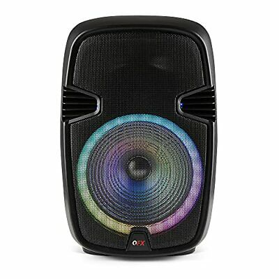 $ CDN207.90 • Buy QFX PBX-153 15  Bluetooth Rechargeable Speaker With LED Party Lights 2021 Model