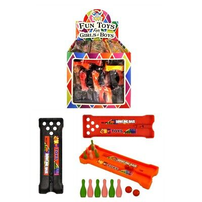 £2.15 • Buy Mini Bowling Alley Game Toys Boys Girls Party Bag Christmas Stocking Fillers
