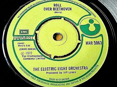 £4.49 • Buy Electric Light Orchestra - Roll Over Beethoven  7  Vinyl (ex)