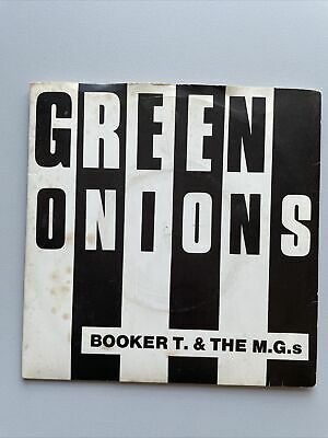 Booker T And The MGs - Green Onions Single Vinyl 7  Record Soul Mod 1979 K 10109 • 5£