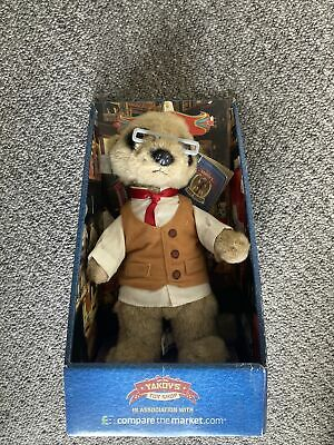 £1.70 • Buy YAKOV Meerkat Soft Toy - Compare The Market - Boxed With Certificate