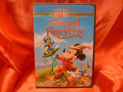 £12.56 • Buy  WALT DISNEY GOLD COLLECTION: FUN AND FANCY FREE  Mickey Mouse Code 1 USA DVD